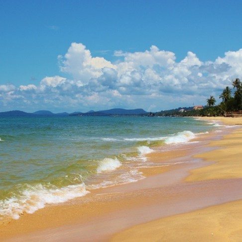 Long Beach on Phu Quoc, Vietnam