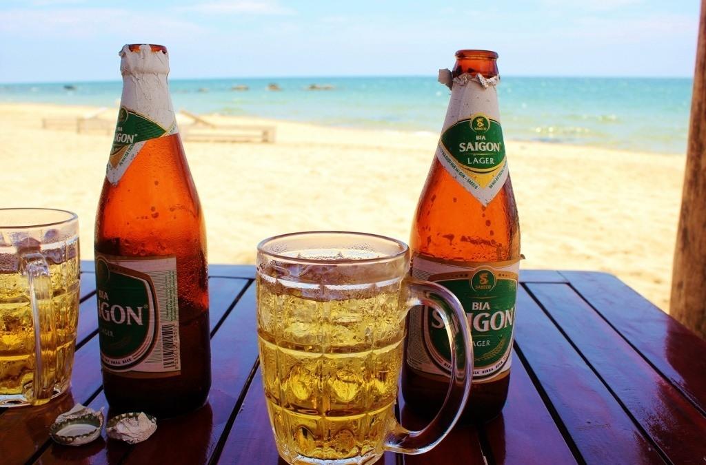 Phu Quoc Vietnam Beach Beers