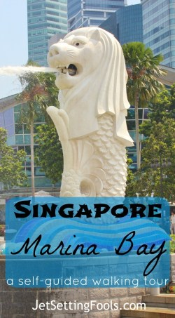 Singapore Marina Bay self-guided walking tour JetSetting Fools