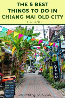 Best Things To Do in Chiang Mai Old City, Thailand by JetSettingFools.com