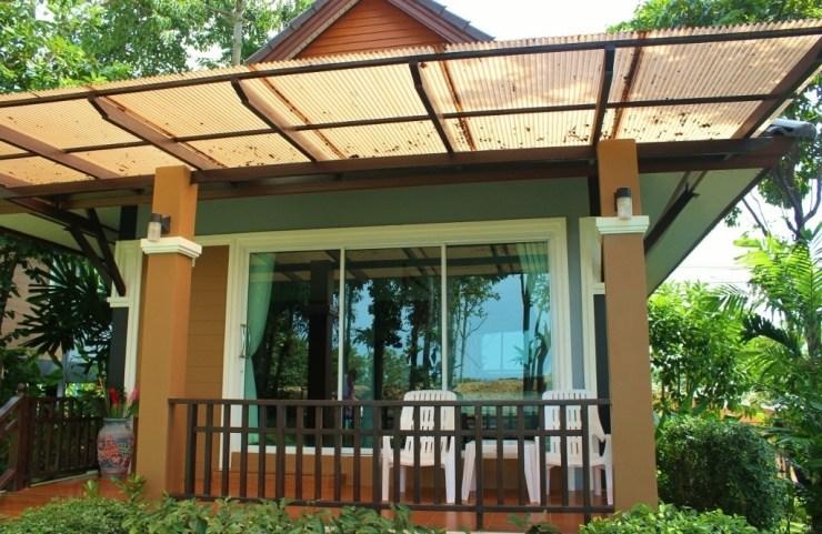Our bungalow at Phutara Resort at Klong Khong Beach in Koh Lanta, Thailand