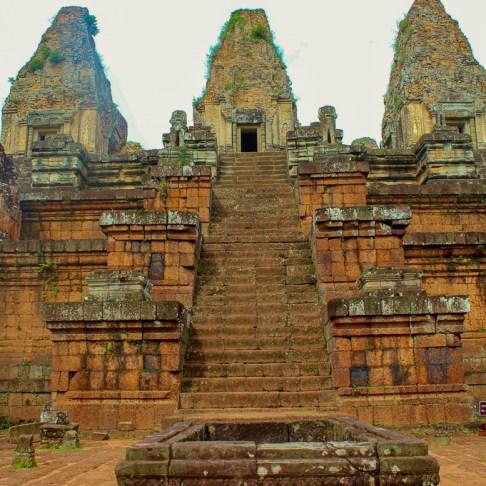 Pre Rup crematorium temple at Angkor Park in Siem Reap, Cambodia