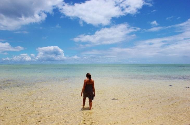 Lagoon at Le Morne, Mauritius
