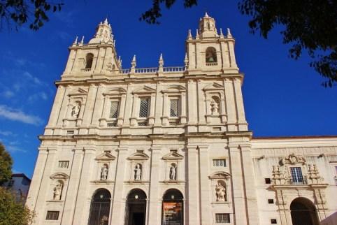 Sao Vicente de Fora in Lisbon Portugal