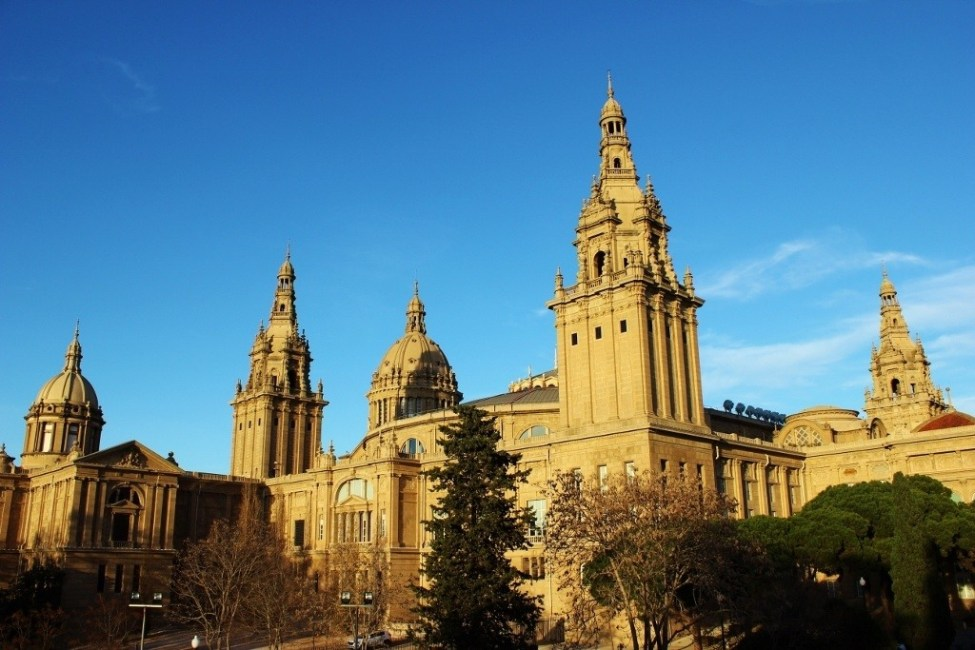 National Museum of Catalonian Art in Barcelona, Spain
