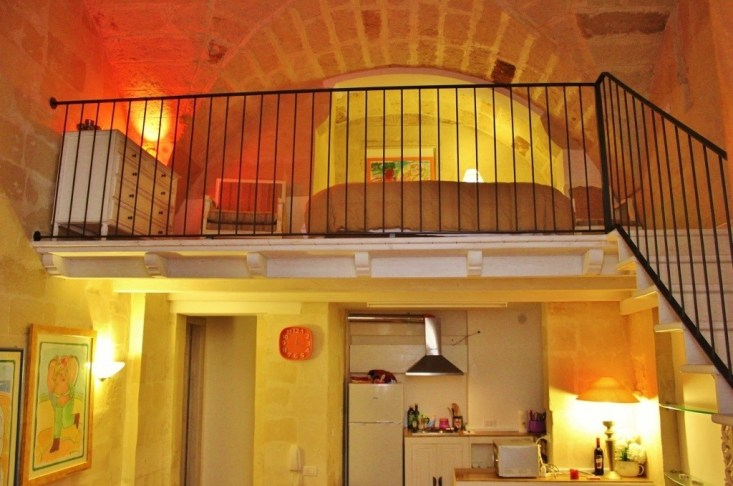 Our fab Airbnb loft in Lecce, Italy