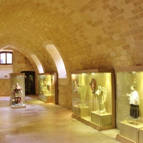 Paper Mache Museum inside Carlo V Castle in Lecce, Italy