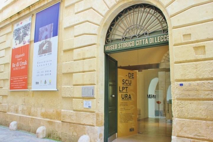 MUST: Museo Storico Citta di Lecce in Italy