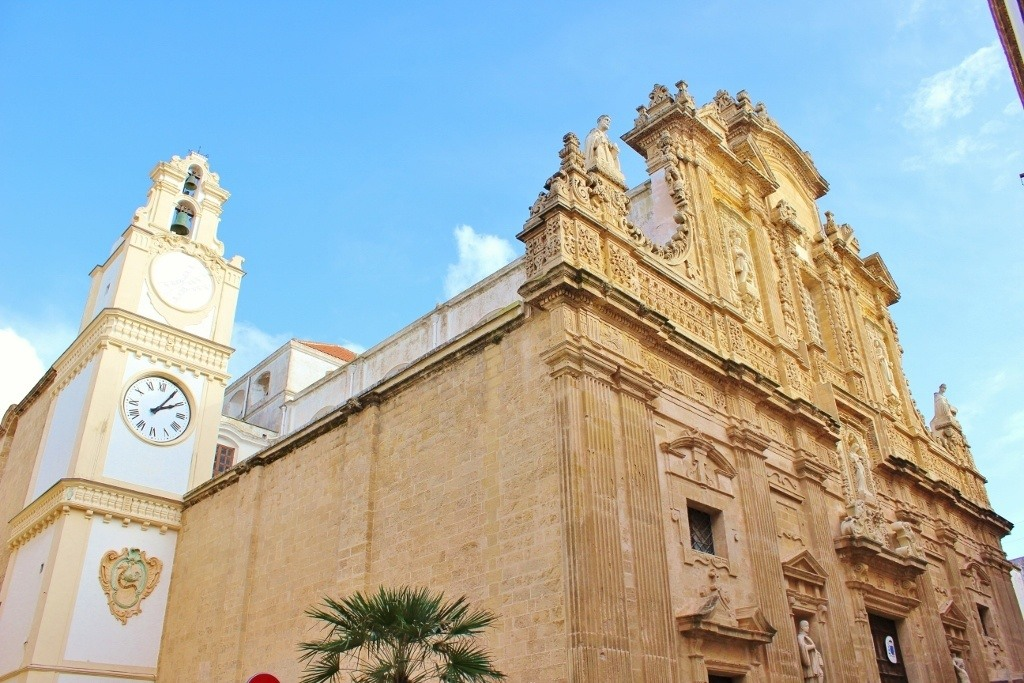 Churches to see on our Day Trip To Gallipoli, Italy