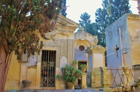 Cemetery in Lecce, Italy