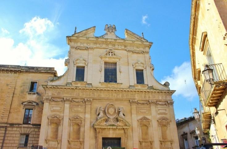 Chiesa del Gesu Church in Lecce, Italy
