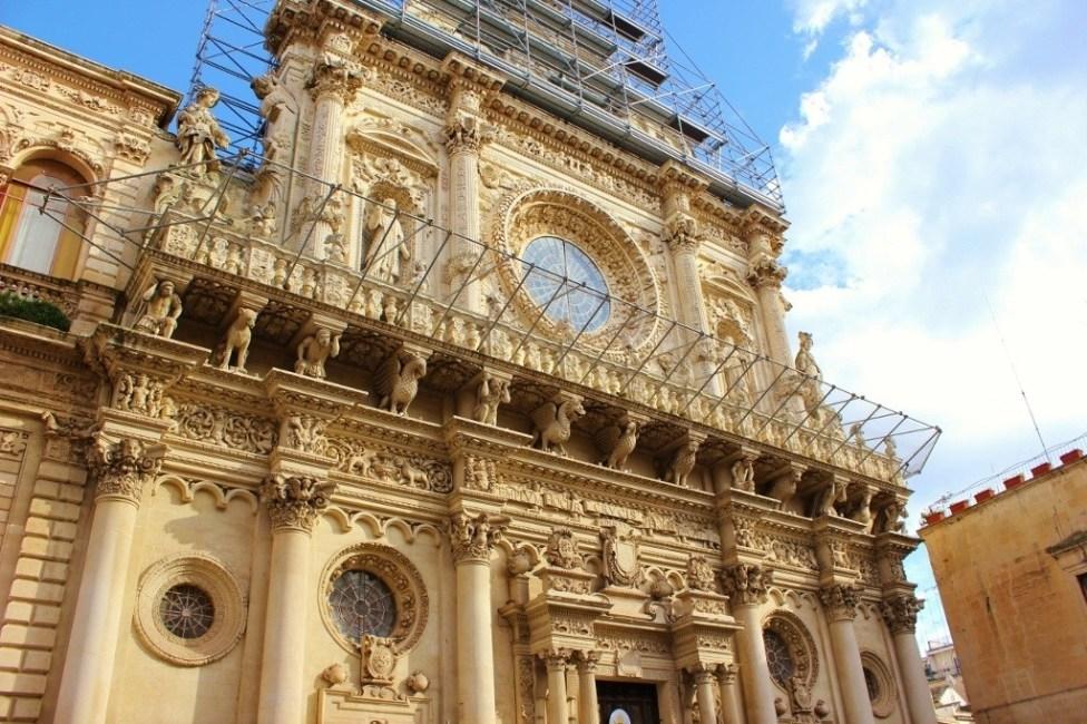 Basilica di Santa Croce in Lecce, Italy
