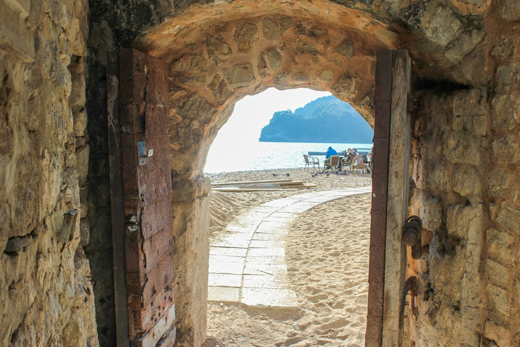 Path to Budva Beach, Montenegro