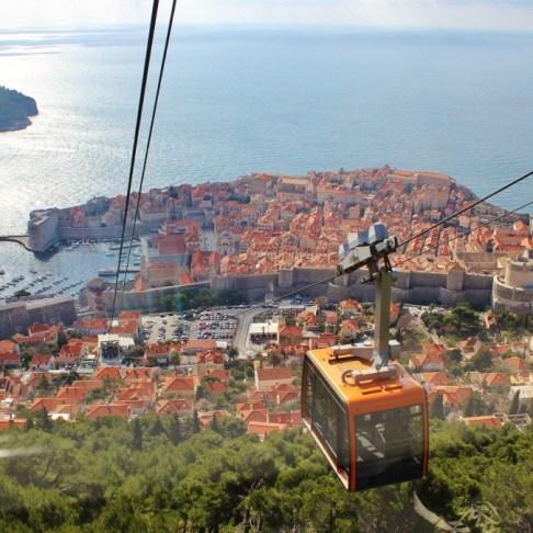 Dubrovnik Cable Car to Mt. Srd, Dubrovnik, Croatia JetSettingFools.com