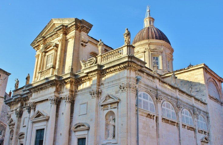 The Cathedral in Old Town, Dubrovnik, Croatia JetSettingFools.com