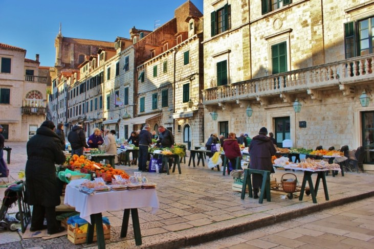 Old Town Market, Dubrovnik, Croatia JetSettingFools.com