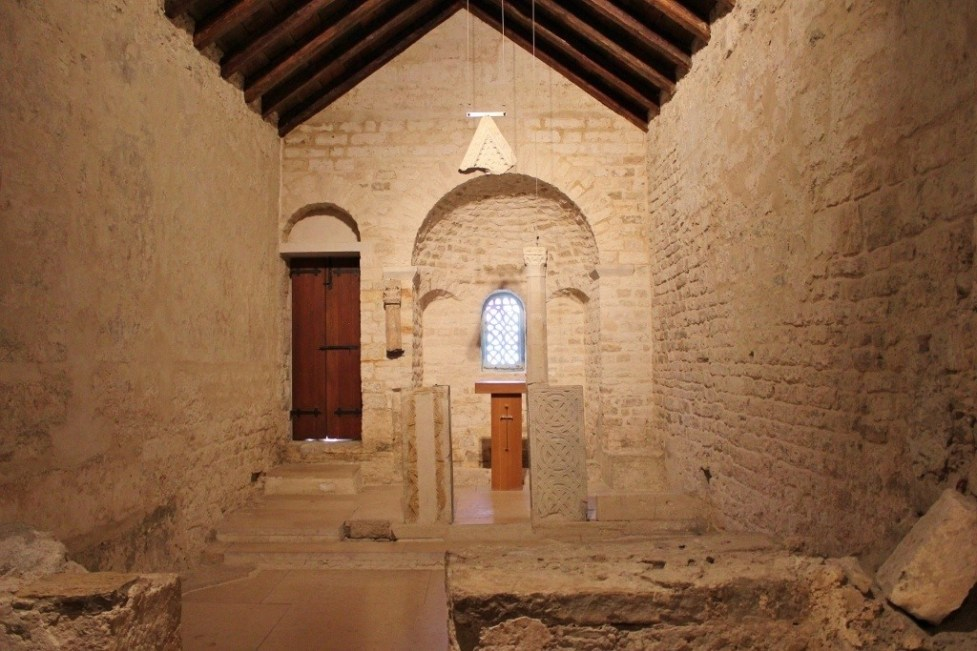 Church of St. Andrew de Fenestris at Ethnographic Museum in Diocletian's Palace in Split, Croatia
