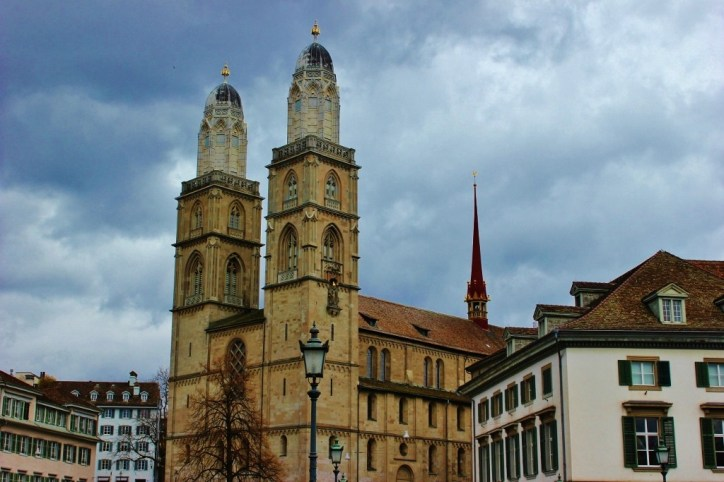 Grossmunster Cathedral, Zurich, Switzerland JetSettingFools.com