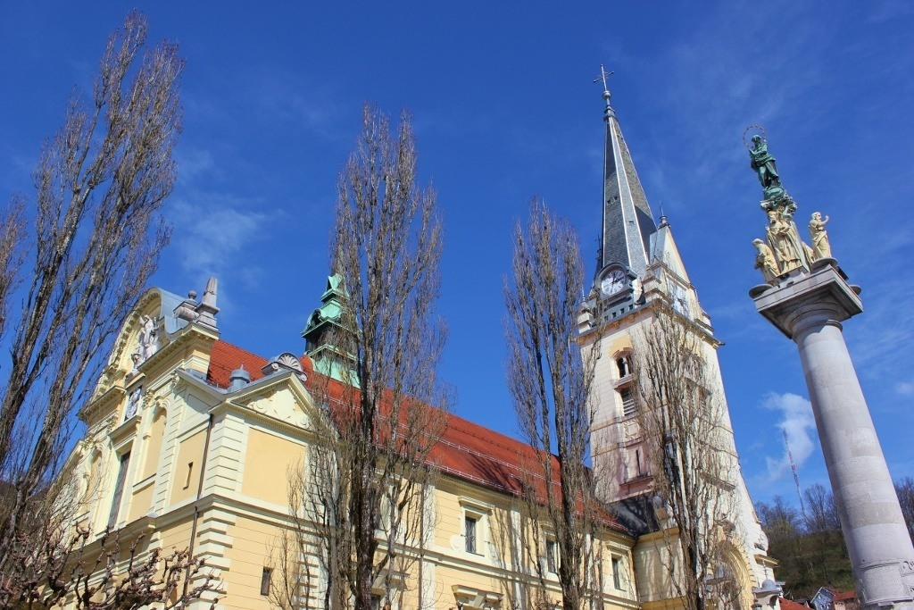 What to see in Ljubljana: St. James Church