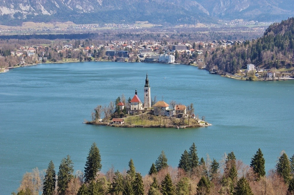 Best view of Lake Bled Slovenia