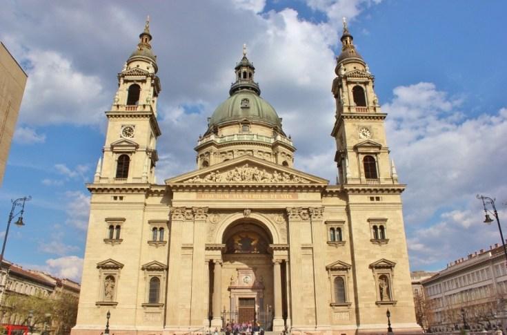 St. Istvan's Basilica in Budapest, Hungary