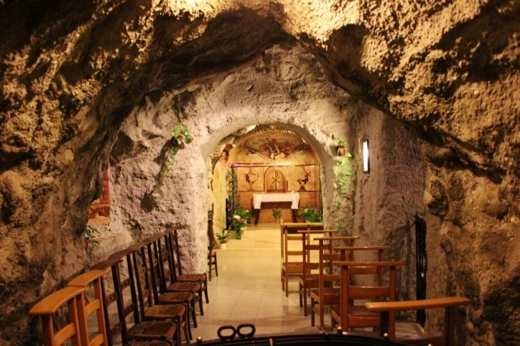Gellert Hill Cave Church