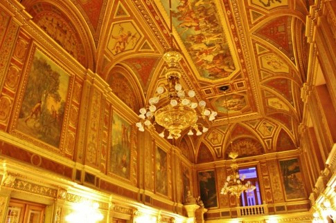 Spa Day and an Opera in Budapest: Opera house opulance