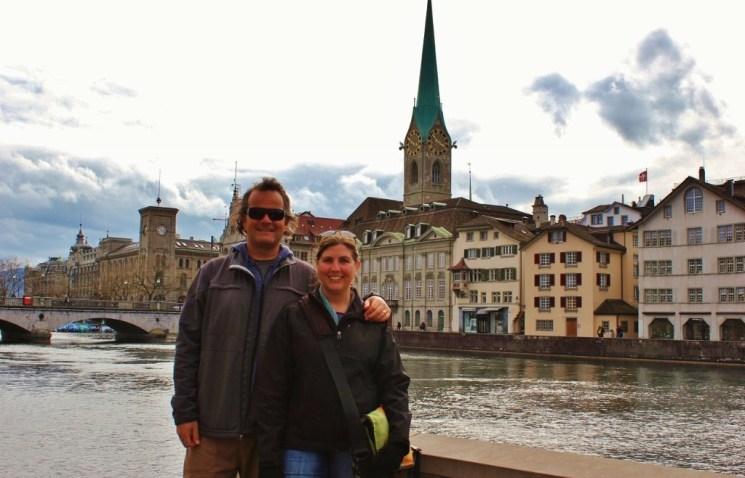 JetSetting Fools on River Limmat in Zurich, Switzerland JetSettingFools.com