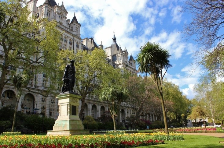 Westminster Sights: Victoria Embankment Gardens