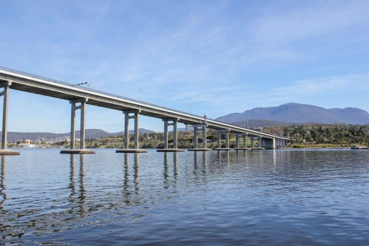 Tasman Bridge, Hobart, Tasmania, Australia