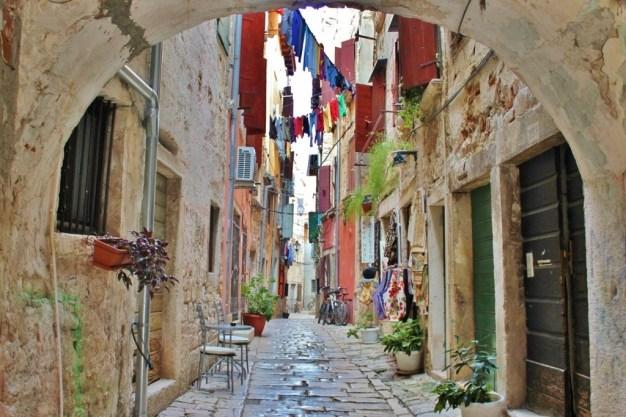 Streets of Rovinj Croatia