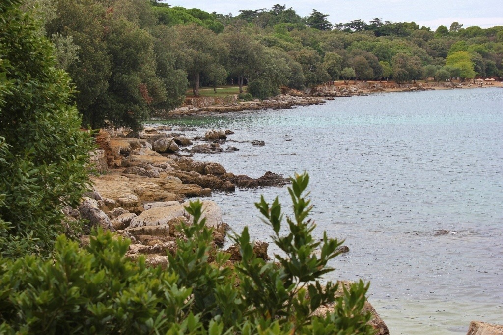 Golden Cape Forest Park has many hiking and biking trails in Rovinj Croatia