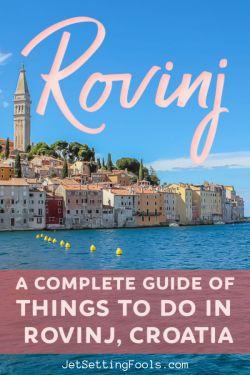 Things To Do in Rovinj, Croatia by JetSettingFools.com