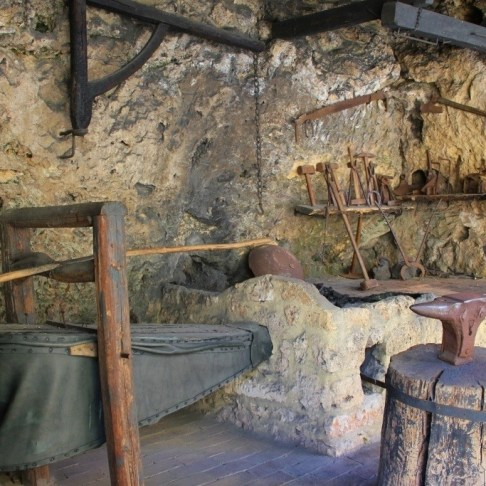 Museum of tools at Krka National Park