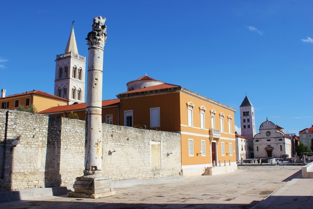 Zadar self-guided walking tour: 24 sights to see