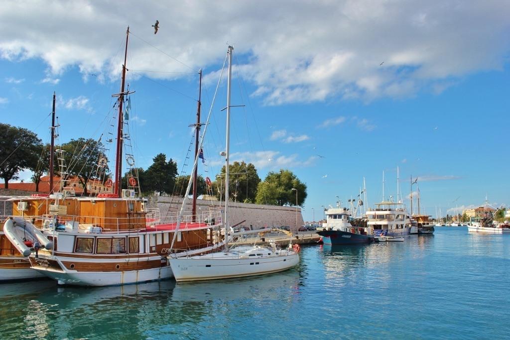 zadar croatia walking tour for free