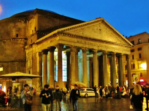 2,000-year-old Pantheon in Rome, Italy