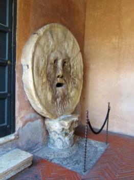 Mouth of Truth, Bocca della Verita, in Rome, Italy