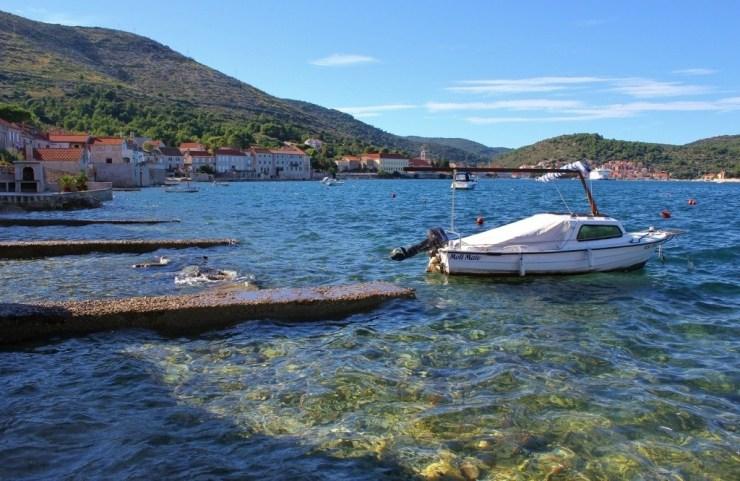 Vis Croatia Harbor