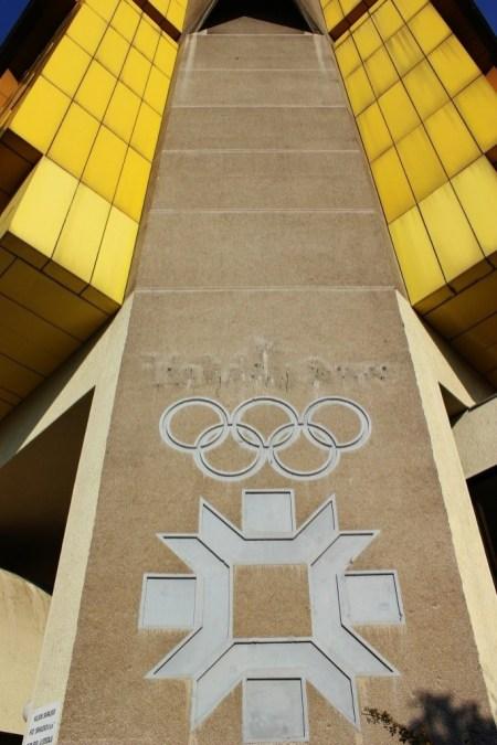 Olympic Symbol, Hotel Holiday, Sarajevo, Bosnia