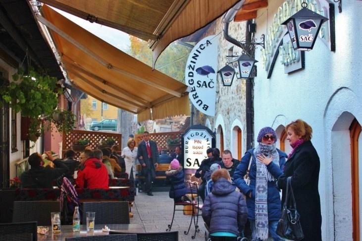 Buregdzinica Sac Restaurant in Sarajevo