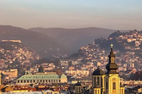 Rooftop Views, Sarajevo, Bosnia