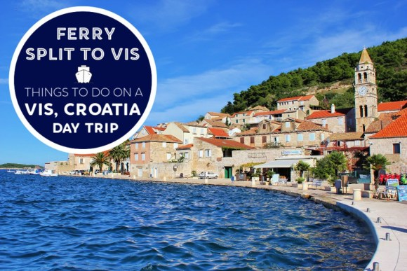 Split to Vis Ferry: Things To Do in Vis, Croatia on a Day Trip by JetSettingFools.com