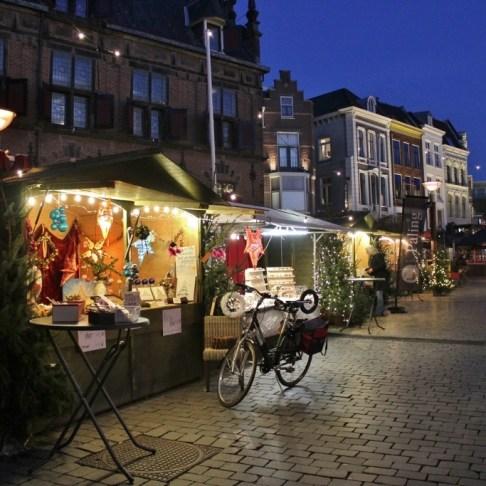 Christmas Markets near Nijmegen Netherlands Nijmegen Grote Markt Booths