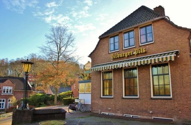 Eetcafe de Witt in village of Beek, Netherlands