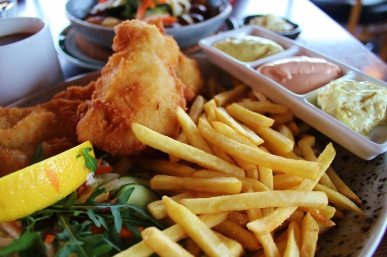 Fish and Chips on our 3-Day Itinerary for Iceland In Winter Fish and Chips JetSetting Fools