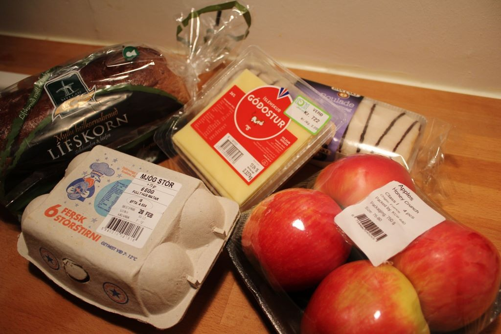 When on a budget, the Best Things to Eat in Reykjavik are from the store JetSetting Fools