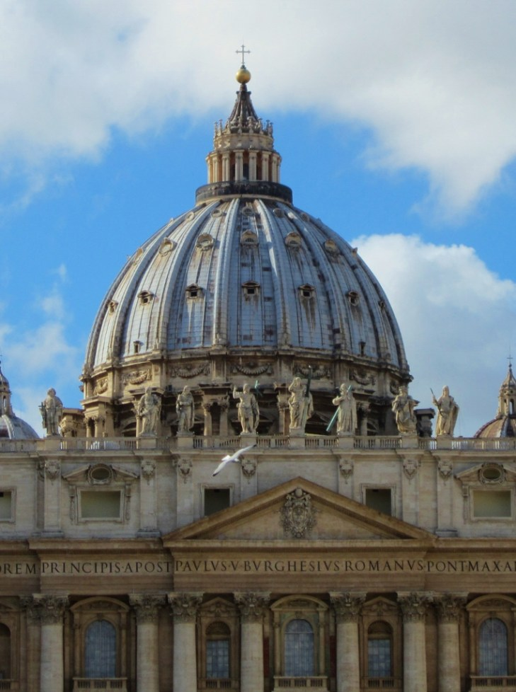 15-Day London Paris Rome Itinerary Rome St. Peter's Basilica at The Vatican