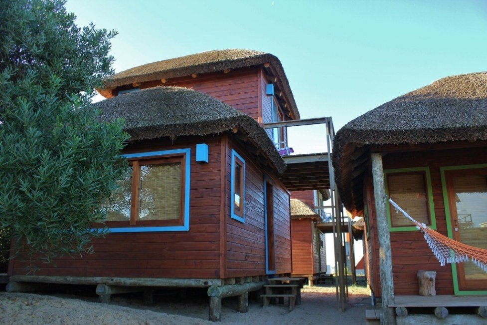 Using Airbnb in Punta del Diablo, Uruguay 2-story beach cabin