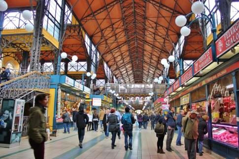 Budapest, Hungary Central Market JetSettingFools.com